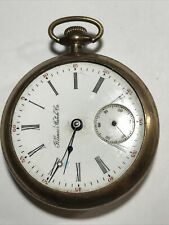 Illinois Grade 99 18s GF Pocket Watch 1899 for Parts / Restoration