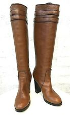 Chloe Gorgeous Brown Leather Womens Boots 38EUR 7US 5UK