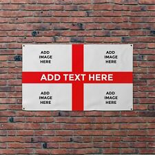More details for custom - create your own  - st george euros football banner - 5 x 3 feet