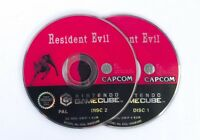Resident Evil Disc 1 & 2 Only - Nintendo Gamecube Game PAL