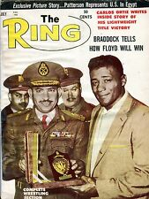 The Ring Boxing Magazine July 1962 Wresling Section VG No ML 100516jhe