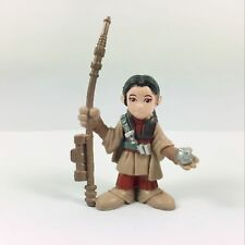 "2"" Star Wars Galactic Heroes PRINCESS LEIA figure in Boushh disguise Collection"