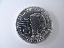 10 Euro-Münze, 2011 A, 200. Geb.Tag Franz Liszt, Stempelglanz N