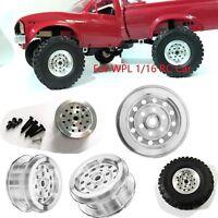 Metal Wheel Rim for WPL B1 B14 B16 B24 C14 C24 Military Truck Car 1/16 Upgrade