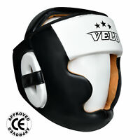 VELO Head Guard Helmet Kick Boxing MMA Martial art Gear Muay Thai Training
