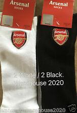 Chaussettes Homme Arsenal TRAINER 2 X 2 = 4 paires entièrement sous licence taille 6 / 11