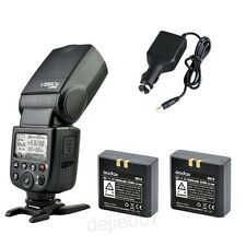 Godox V860C HSS E-TTL Speedlite Flash 1/8000s Li-ion+ 2 Batteries for Canon