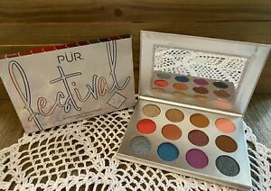 PUR PRESSED PIGMENT PALETTE 12 SHADES FESTIVAL 2.0 NEW IN BOX BoxyCharm ❤️