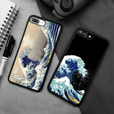 The Great Wave off Kanagawa Silicone Phone Case Cover For iPhone Samsung Galaxy