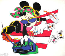 """15.5"""" DISNEY  MOUSE MINNIE BEACH CHARACTER WALL SAFE FABRIC DECAL CUT OUT"""
