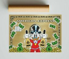More details for scrooge mcduck x american express (poster print) alec inspired - pop wall art