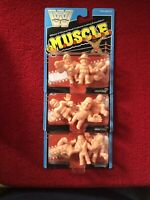 WWE M.U.S.C.L.E. Packs Lot Of 3 Packages All Different New Factory Sealed