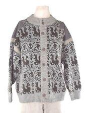 missoni giacca maglione pesante uomo grigio taglia xl / xxl extra large