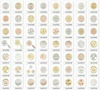 400 Styles My 33mm Interchangeable Coin for 35mm Mode Necklace Pendants 3 Colors