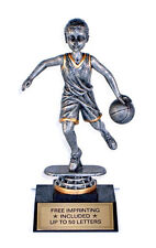 Trophy- Male Basketball Bobblehead- Free Lettering- Wow