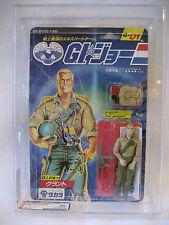 AFA 90 Hasbro GI Joe DUKE Takara MOC action figure 1986 Japanese G.I. Joe toy !!