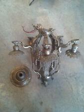 Super ornate decorated chandelier needs work   (LT 314)