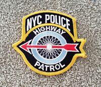 New York Highway Patrol Shoulder Patch