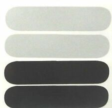 bande casque moto reflechissante mix 2 noir et 2 blanc PRODUIT europeen