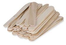 100 Large Waxing Sticks Wax Spatulas Wooden Applicators -  PW2012 x1