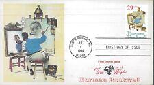 1994 Stockbridge Massachusetts Normal Rockwell First Day Cover