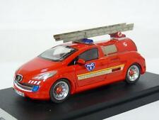 Starter T207 1/43 2002 Peugeot H2O Concept Fire Engine Handmade Resin Model Car