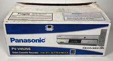 NEW Panasonic PV-V4525S VHS Player Recorder 4 Head Hi Fi Stereo Omnivision VCR