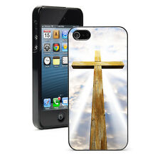 For Apple iPhone X SE 5 5S 5c 6 6s 7 8 Plus Hard Case Cover 221 Wood Cross