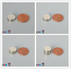 "Multiple Thickness & 12.7mm  1/2""dia Rare Earth Neodymium Disc Magnets"