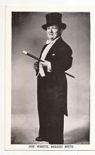 Joe White, Magic Mite Post Card - postally unused