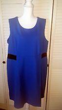 Nwot Avon Signature Collection Women's Dress Blue~size 1x (18w-20w)