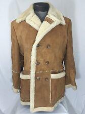 Shearling Coats & Jackets for Men Peacoat | eBay