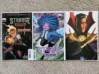 STRANGE ACADEMY #3 SET A COVER ADAMS & ROSS TIMELESS VARIANT NM MARVEL COMICS