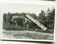 Foto : Bomber-Flugzeug aus Polen am Gelände Flugzeugwerk Mielec in Polen 1939