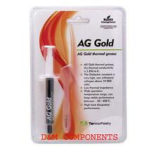3G: AG ORO COMPUND termica, pasta termica, grasso per la CPU VGA PS3 XBOX Dissipatore di calore