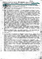 RSI FASCISMO PINO ROMUALDI -BRIGATE NERE  INTERVISTA MEMORIALE 30 PAGINE