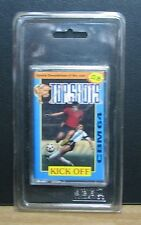TOP SHOTS KICK OFF - Commodore CBM 64 - NUOVO NEW OLD STOCK SEALED  Vintage 1989