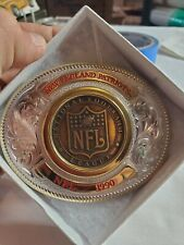 Montana Silversmith New England Patriots NFL 1990 Buckle Limited Silver plate