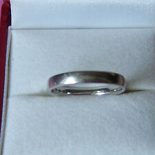 Ladies Platinum Wedding Band Ring