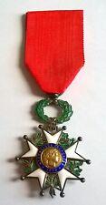 FRANCE: Médaille de Chevalier de la légion d'honneur en argent IIIème république