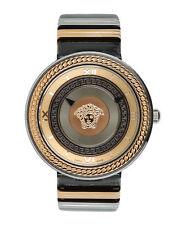 Versace женские V-металлический значок часы velc 00218