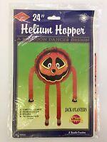 Beistle 24in Helium Hopper Jack O Lantern Halloween Helium Balloon Dancer NOS