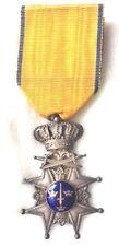 SWEDEN:  WW1-ERA ROYAL ORDER OF SWORD, MILILTARY,BEAUTIFUL  SILVER/GOLD/ENAMEL !