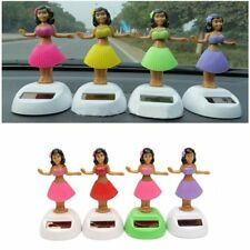 Cute Solar Powered Dancing Hula Girl Swinging Bobble Car Decoration Toy