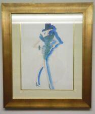 Rafael Vazquez Designer-Original Signed -Fashion Illustration