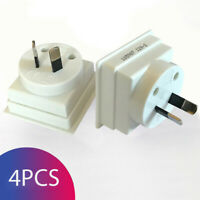 UK to AU Australia Australian Travel Adapter Plug Converter Adaptor - Pack of 4