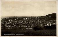Neustadt an der Haardt Weinstraße alte Postkarte ~1930 Gesamtansicht Panorama
