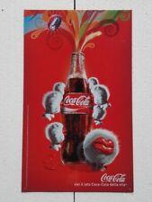 """Coca Cola Company insegna pubblicitaria """"Vivi il lato Coca Cola della vita"""""""