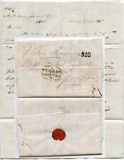 GB to PORTUGAL 1865 EXTRA SHEET via STEAMER SHIP BETA 320 HS LETTER to GASSIOT