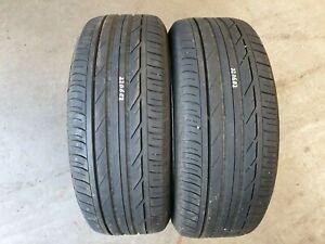 2x 225/50 R18 95W Bridgestone T001 * rsc runflat - 5,0mm Restprofil